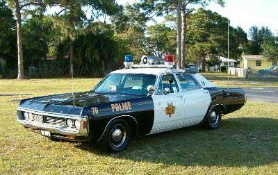Vintage 1970s police car - USA Stock Photo: 82469266 - Alamy |1970 Police Cars Florida