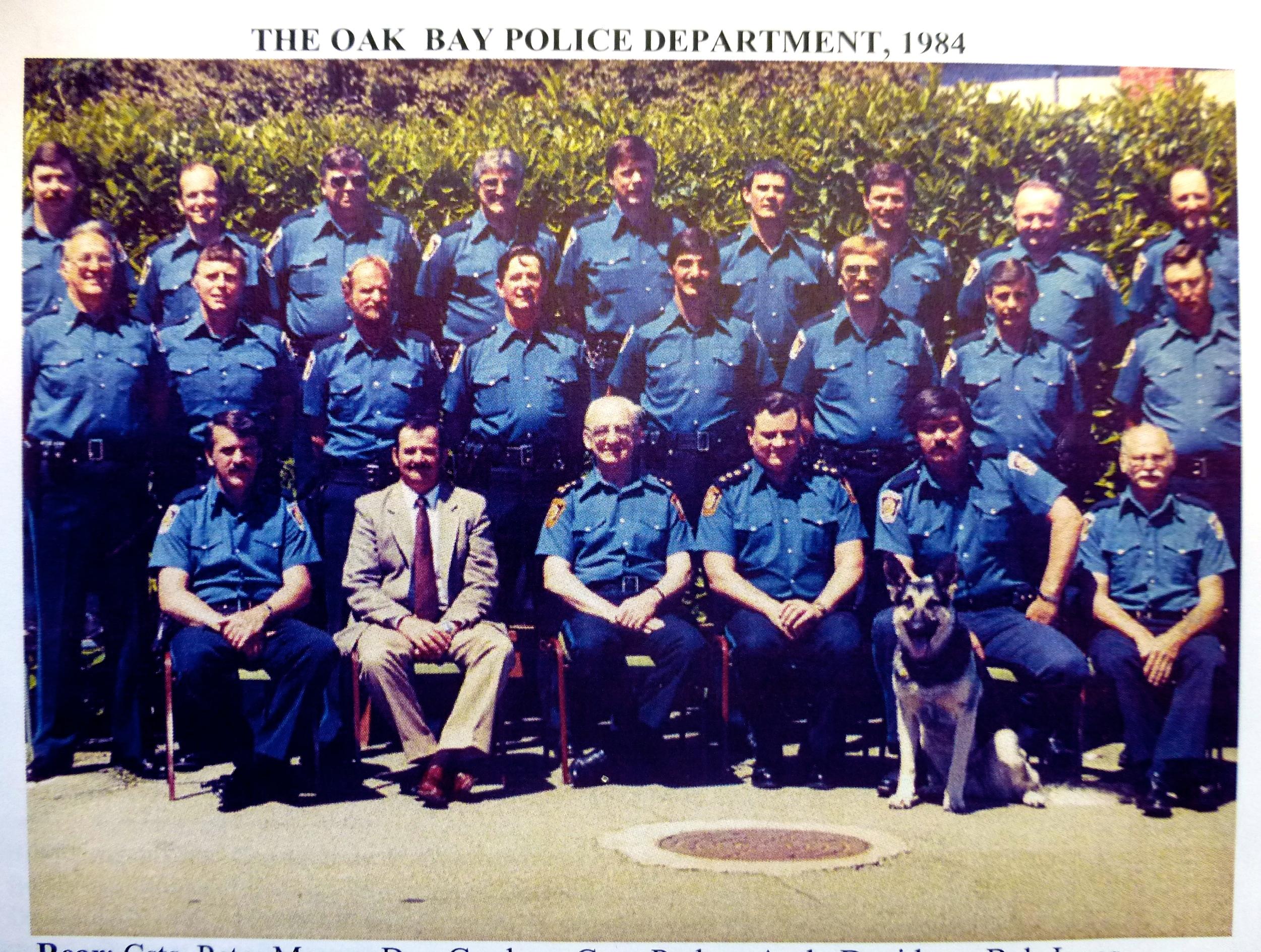 Oak Bay Police 1984
