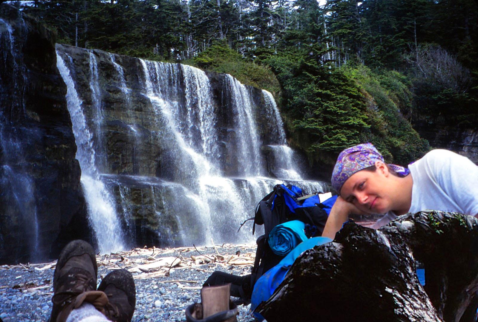 Kari at Falls