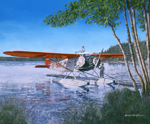 painting by jim bruce aviationartists