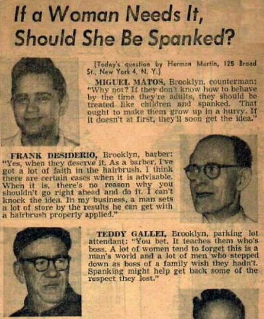 Spanking Women