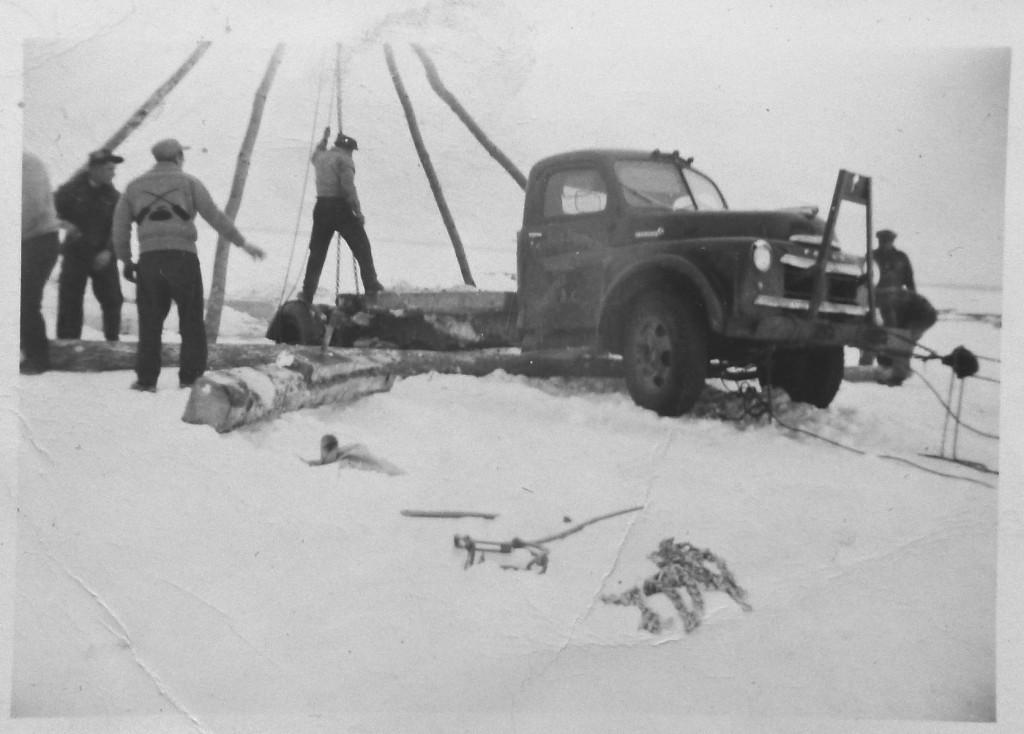 Truck on Thin Ice