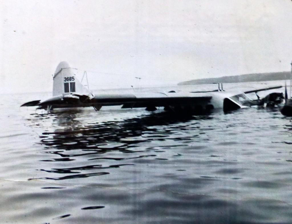 Sunken DHC-3 Otter