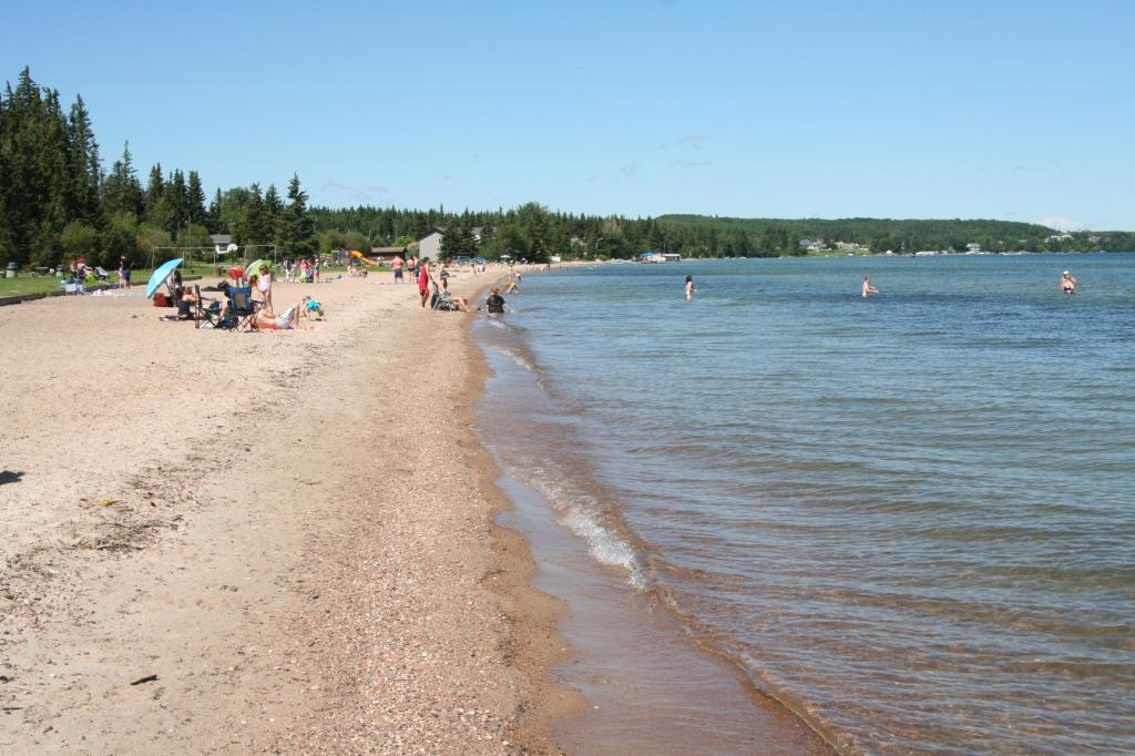 Cold Lake Kinosoo Beach