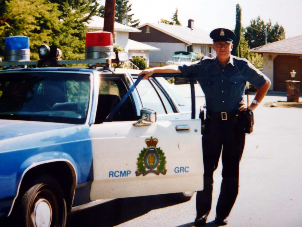 harold with rcmp 1994
