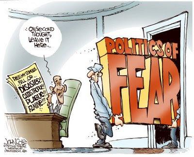 Cartoon - Politics of Fear