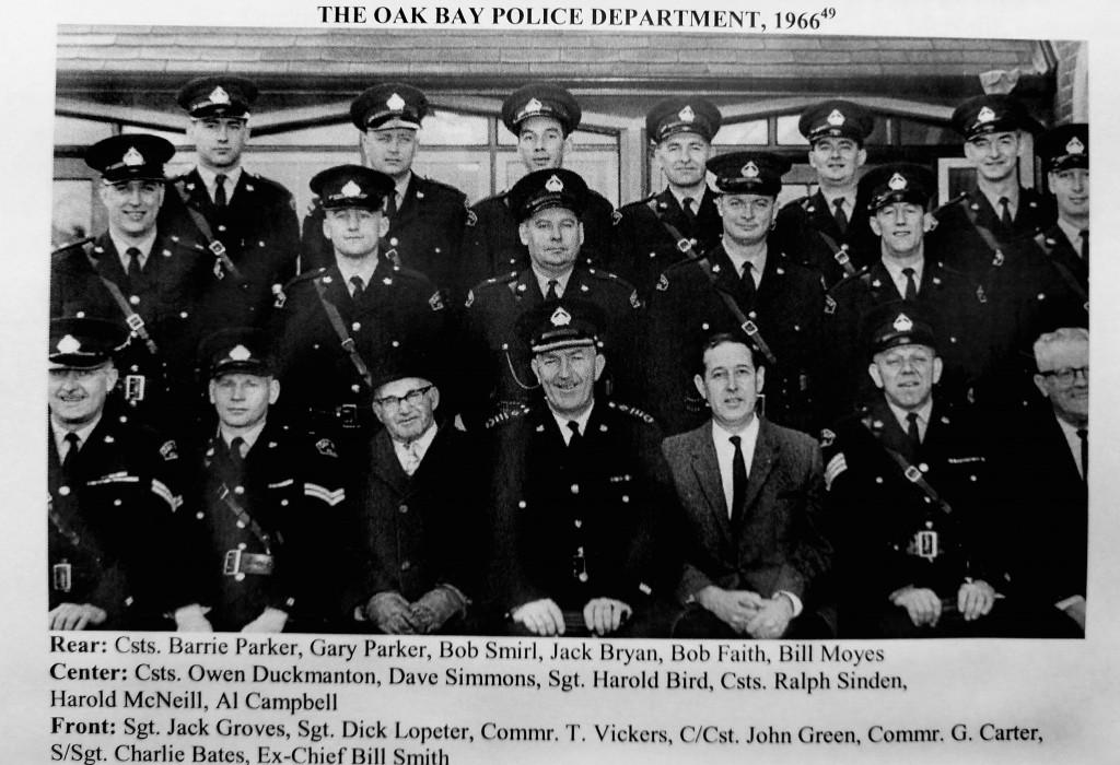 Oak Bay Police 1966
