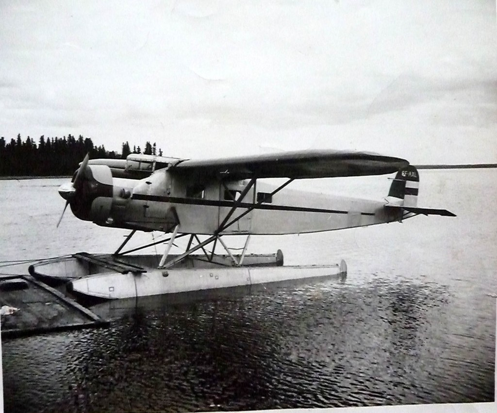 Fairchild 82 CF-AXL