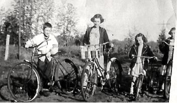 Harold and Girls at Pibroch