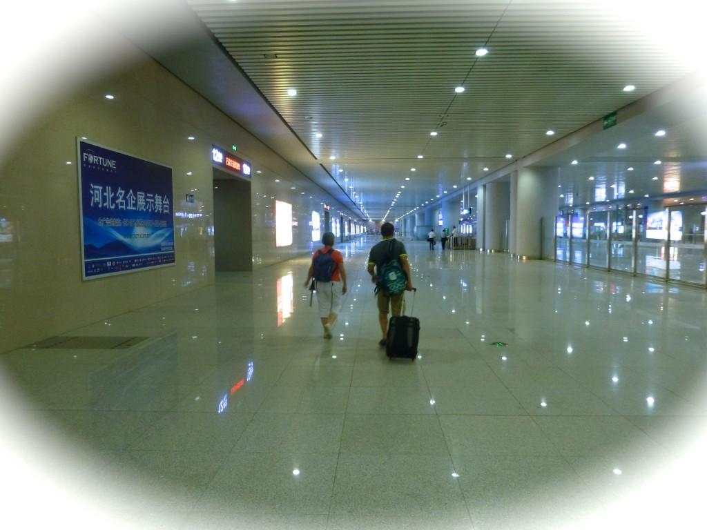 Entering Shijiazhuang