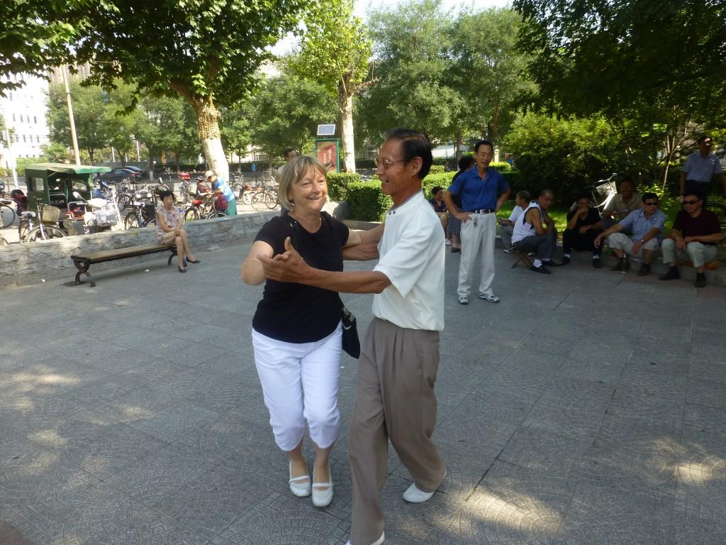Dancing in Park
