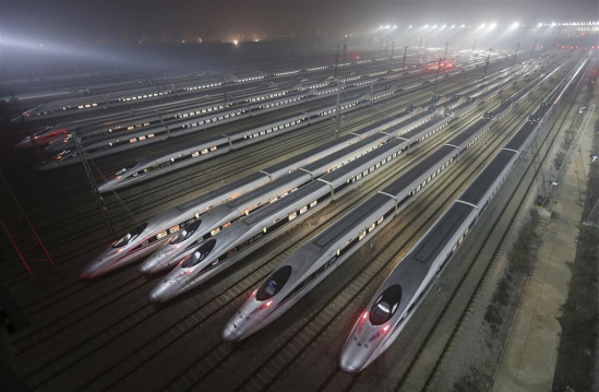 china-railway-high-speed-harmony-bullet-trains-are-seen-at-a-high-speed-train-maintenance-base-in-wuhan-hubei-province-early-december-25-2012