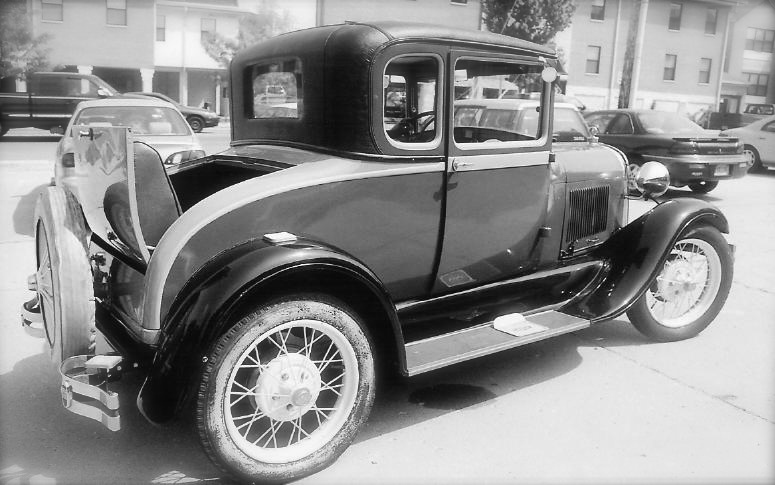Harolds 28 Model A Ford Coupe