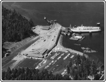 Swartz Bay Ferry Terminal 1980