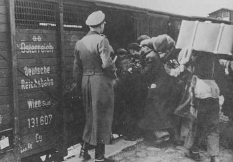Loading Cattle Cars for Belzic Camp