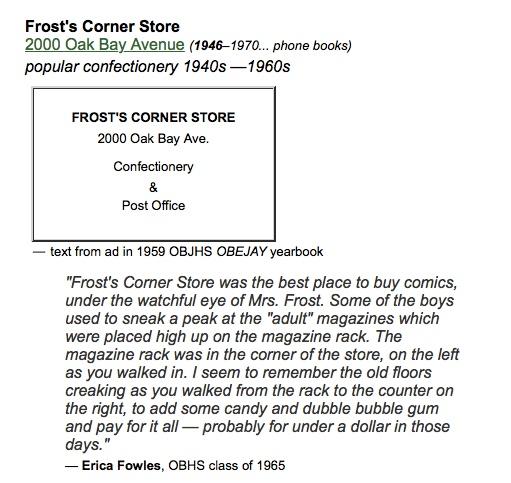 Frosts Corner Store