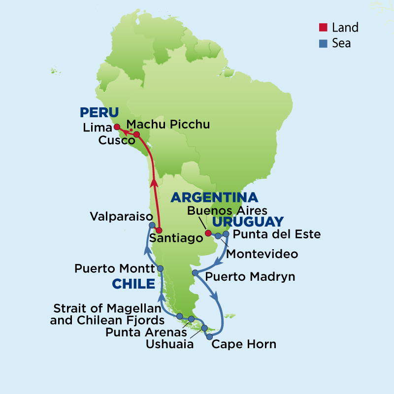 Cape Horn On South America Map.Mcneill Life Stories A South America Adventure Mcneill Life Stories