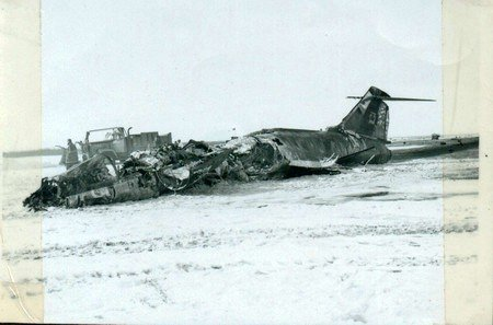 CF-104 Crash at Cold Lake