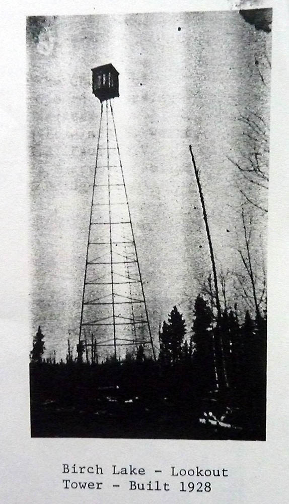 Birch Lake Fire Tower
