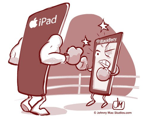 IPad vs Blackberry