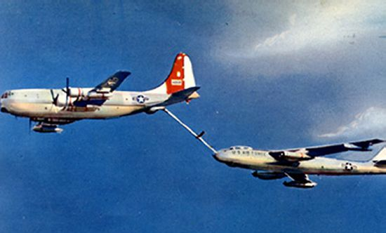 KC-97 on Refuel Run