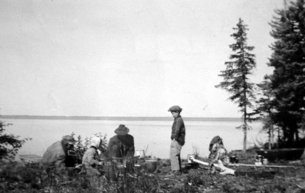 Picnic on Marie Lake