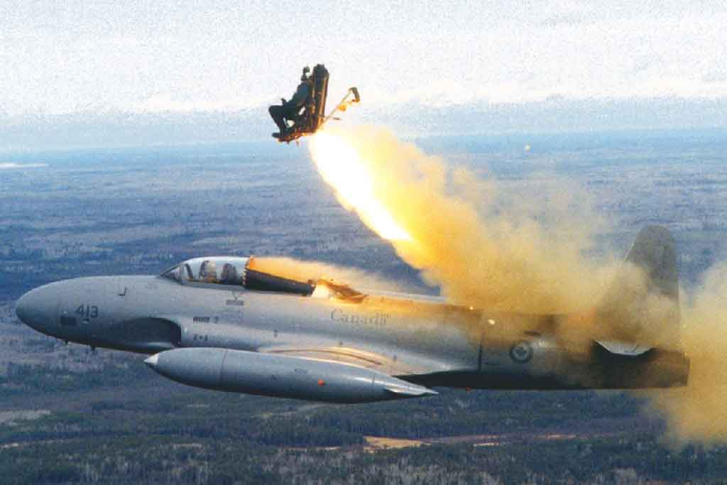 T-33 Test of Ejections Seat