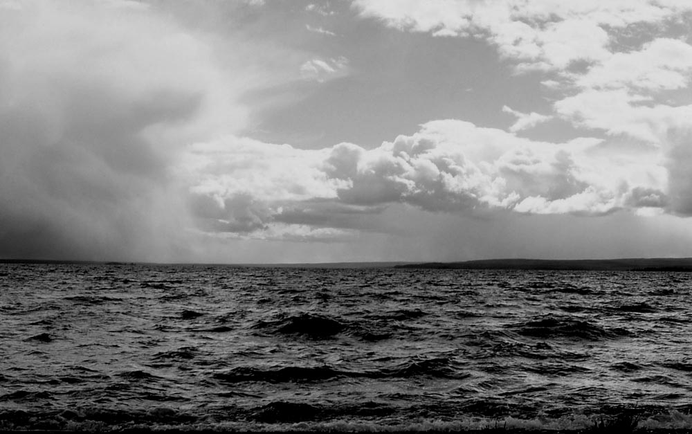 Line Squal moving in over water